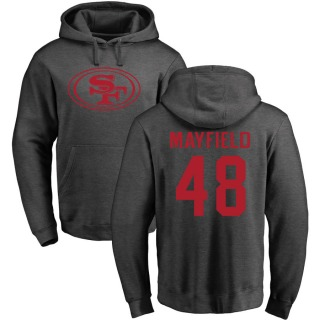 Youth Tyree Mayfield San Francisco 49ers Pro Line by Ash One Color Pullover Hoodie